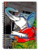 Big Al - Bama's Mascot Spiral Notebook