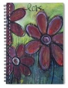 Big And Bright Daisies Spiral Notebook