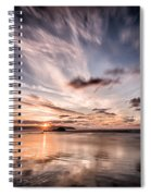 Atlantic Sky Spiral Notebook