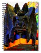 Big Bad Bat Spiral Notebook