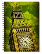 Big Ben 14 Spiral Notebook