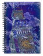 Big Ben 17 Spiral Notebook