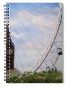 Big Ben And The London Eye Spiral Notebook