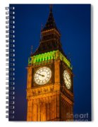 Big Ben At Night Spiral Notebook