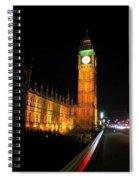Big Ben At Night  Spiral Notebook