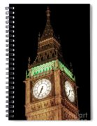 Big Ben Close Up Spiral Notebook