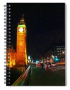 Big Ben - London Spiral Notebook