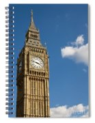 Big Ben Spiral Notebook