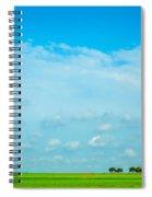Big Blue Texas Sky Spiral Notebook