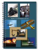 Big Boy Toys Photography Services Spiral Notebook