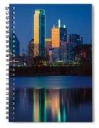 Big D Reflection Spiral Notebook
