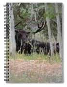 Big Daddy The Moose 1 Spiral Notebook
