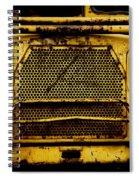 Big Dump Truck Grille Spiral Notebook