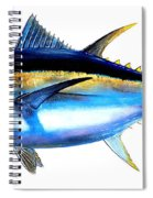 Big Eye Tuna Spiral Notebook