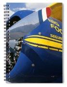 Big Foot Biplane Spiral Notebook