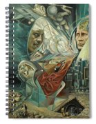 Big Game Or Silence Is Gold Spiral Notebook