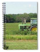 Big Green Spiral Notebook