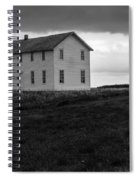 Big House In A Storm Spiral Notebook