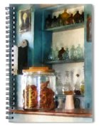 Big Jar Of Pretzels Spiral Notebook