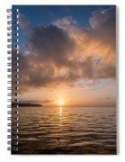 Big Lagoon Winter Evening Spiral Notebook