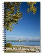 Big Mackinac Bridge 57 Spiral Notebook