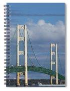 Big Mackinac Bridge 61 Spiral Notebook