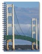 Big Mackinac Bridge 63 Spiral Notebook
