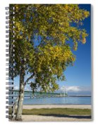 Big Mackinac Bridge 67 Spiral Notebook