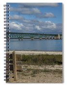 Big Mackinac Bridge 72 Spiral Notebook