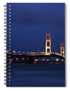 Big Mackinac Bridge 9 Spiral Notebook