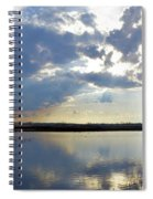Big Marsh Sunset Spiral Notebook