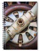 Big Motor Vintage Vintage Aircraft Spiral Notebook
