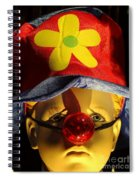 Big Nosed Boy Spiral Notebook