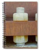 Big Nuts And Bolts Spiral Notebook