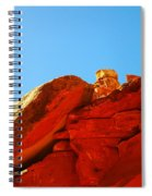 Big Orange Rock Spiral Notebook