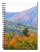 Big Pisgah Mountain In The Fall Spiral Notebook