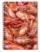 Big Prawns In Market Spiral Notebook