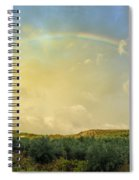Big Rainbow Spiral Notebook