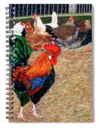 Big Red And The Girls Spiral Notebook