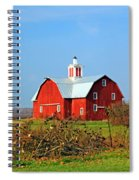 Big Red Barn Spiral Notebook