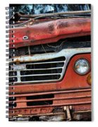 Big Red Dog Spiral Notebook