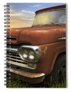 Big Red Ford Spiral Notebook