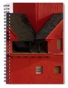 Big Red Holland Harbor Light Michigan Spiral Notebook
