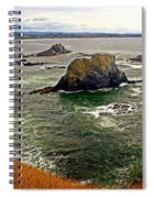 Big Rock Beach Spiral Notebook