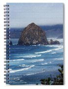 Big Rock On The Oregon Coast Spiral Notebook