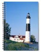 Big Sable Lighthouse Spiral Notebook