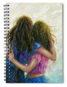 Big Sister Hug Spiral Notebook