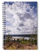 Big Sky At Kielder Spiral Notebook
