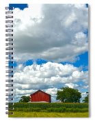 Big Sky Spiral Notebook