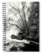 Big Spring In B And W Spiral Notebook